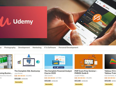 Turn your knowledge into money with Udemy