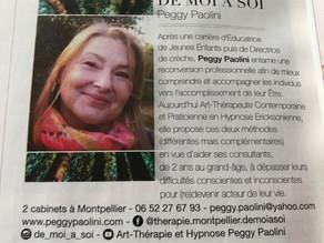Parution Magazine ELLE - Languedoc Roussillon