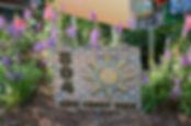 House number Garden Art
