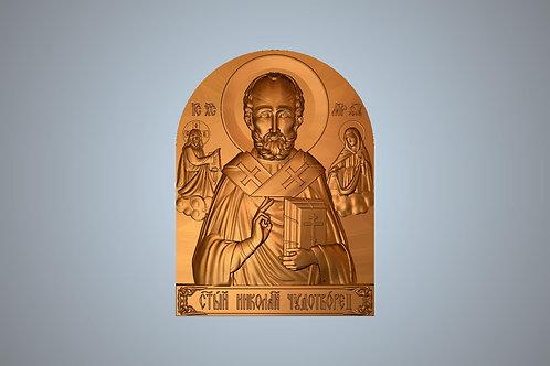 248 Икона Святой Николай Чудотворец