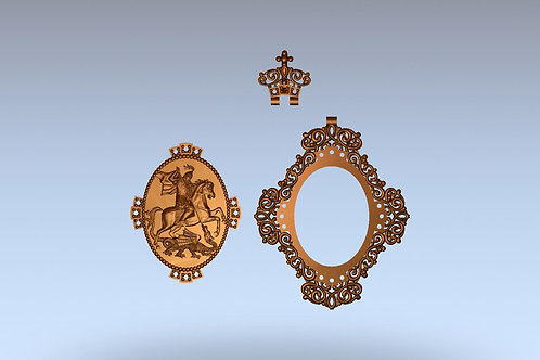 Медальон 6