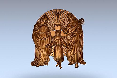 9 Икона Святое семейство