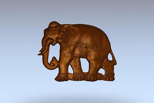 4 Индийский слон