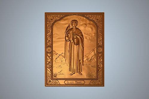 215 Икона Святой мученик Трифон