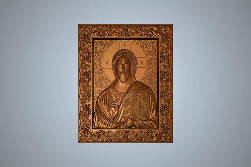 126 Икона Спас вседержитель