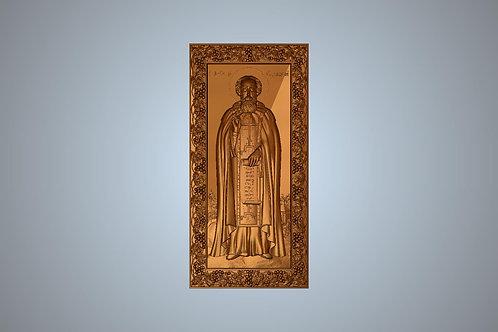 96 Икона Святого преподобного Сергия Радонежского
