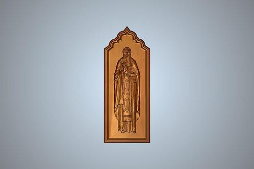 79 Икона Преподобный Петр Сербский, Коришский