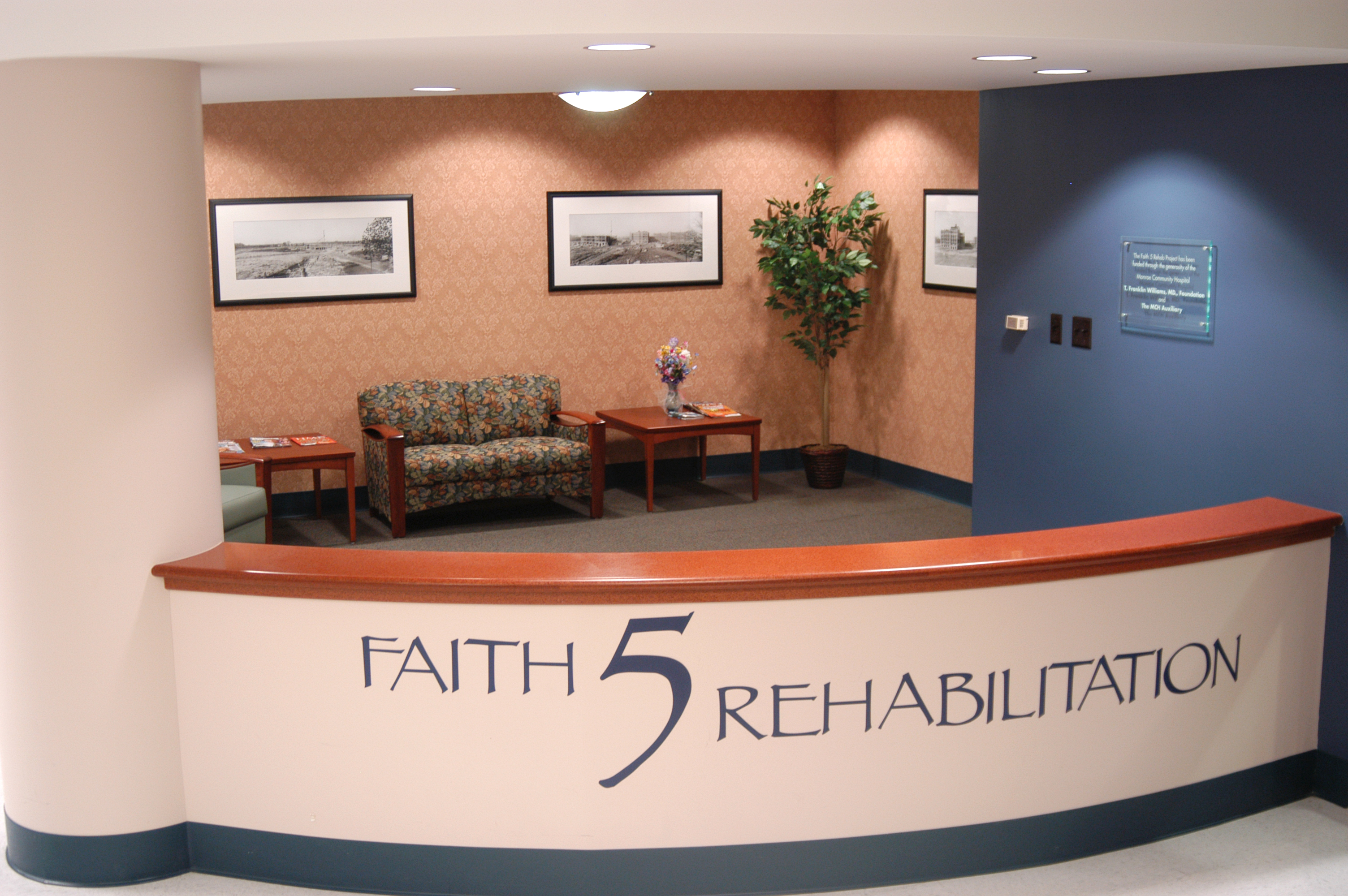 Faith 5 Rehab Lounge