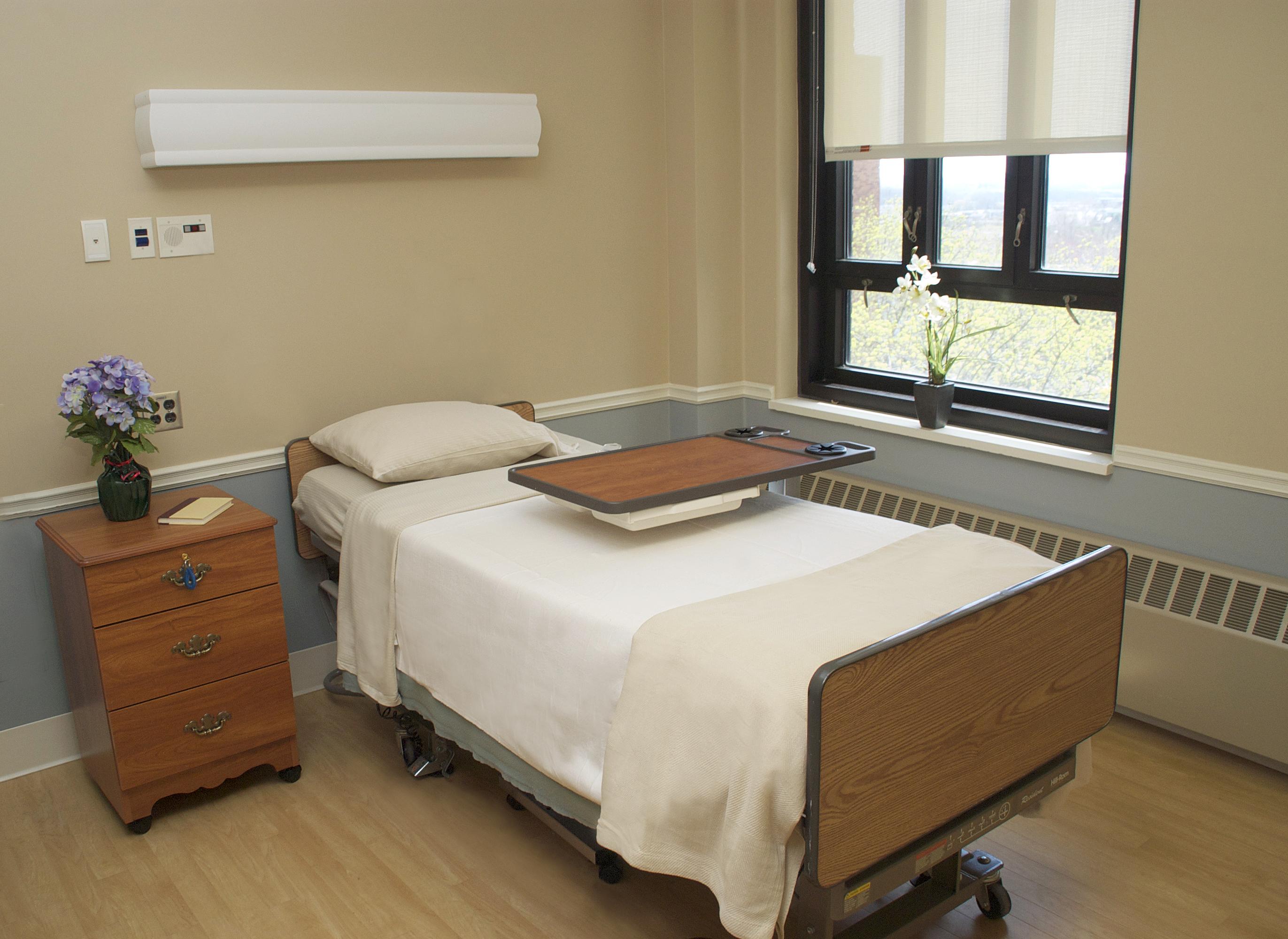 Rehab Resident Room