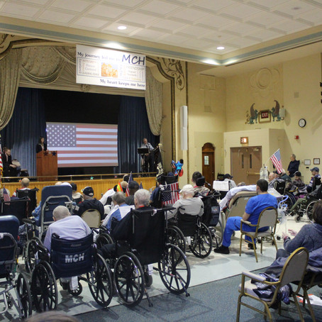 """MCH Hosts a """"Salute to Veterans"""""""
