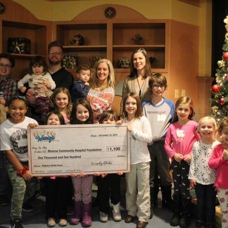MCH Accepts Donation for Pediatric Unit