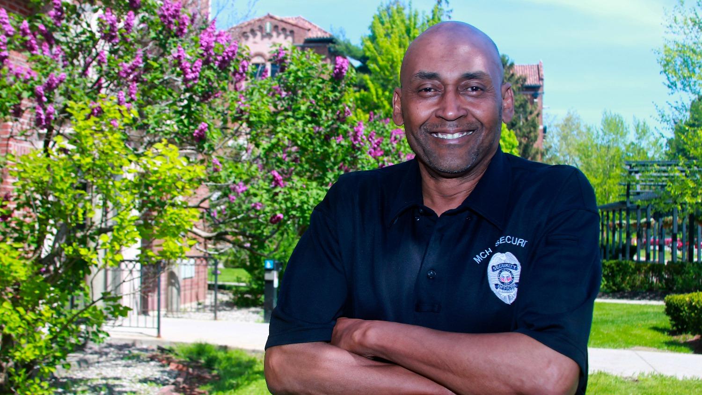 Eddie - Security Officer