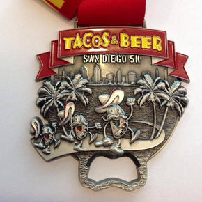 Tacos n' Beer Medal
