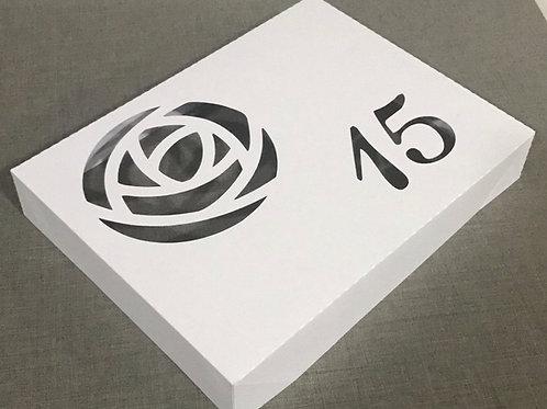 Caixa para Convite com envelope para Festa de 15 Anos