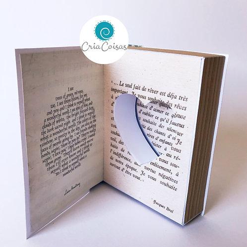 Caixa Livro - Porta Aliança