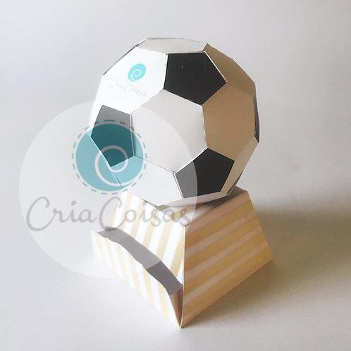 Troféu Bola com base Dispenser para balas!