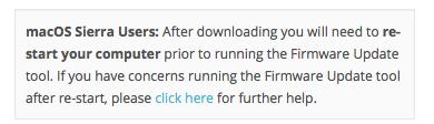 erro de atualização de firmware silhouette studio