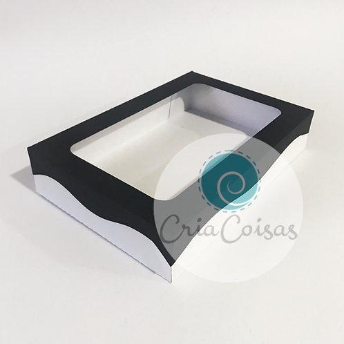 Caixa com tampa - Formato 21x14x4cm