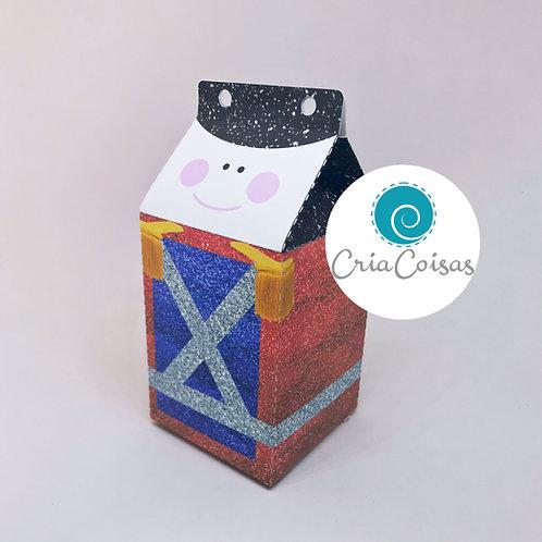 Caixa Milk Soldadinho de Chumbo- Tema Brinquedo