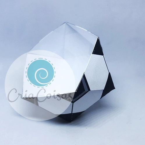 Cachepô Tema Futebol - Para Guloseimas