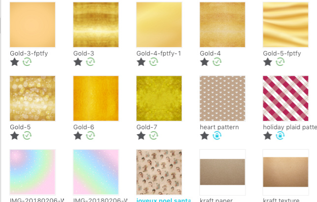 Tons Dourados no Silhouette Studio