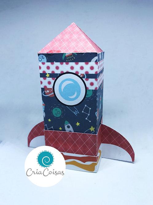 Caixa Foguete - Festa no Espaço