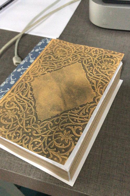 Caixa Livro - Com alojamento em formato retangular