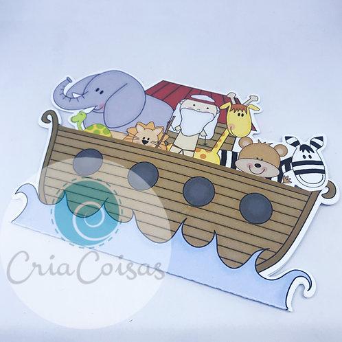Convite Arca de Noe