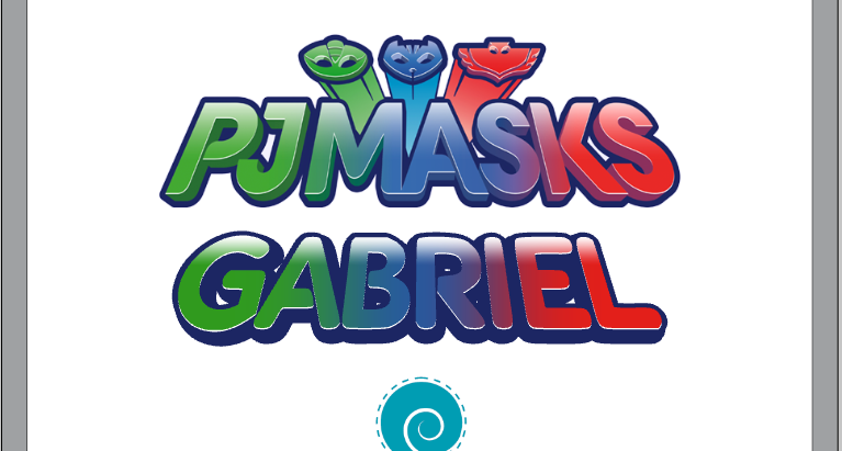 (Re)Criando o logo PJMASKS no Silhouette Studio!