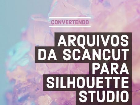 Convertendo arquivos da ScanCut (FCM) para Silhouette Studio (.Studio3)