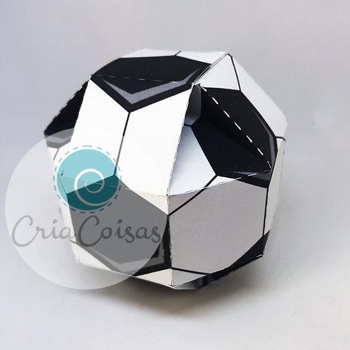 Caixa Formato Bola de Futebol