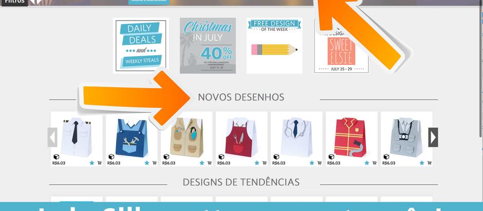Loja Silhouette Studio em português e valores em Reais(R$)? Sim, é possível!