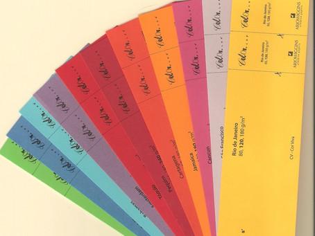 Qual papel Colorplus usar em um tema específico? Cores de Colorplus X Temas