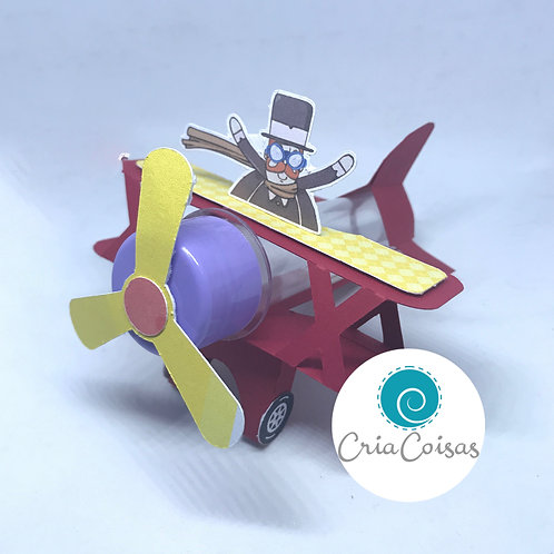 Avião Tubete CriaCoisas