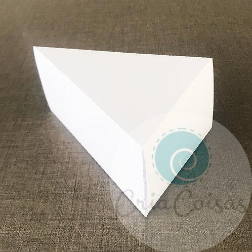 Caixa Fatia de Bolo (10x13x7cm)