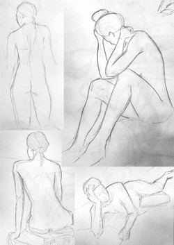 Life Drawing -4