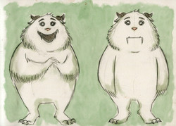 Concept Art from JO AND THE GIANT