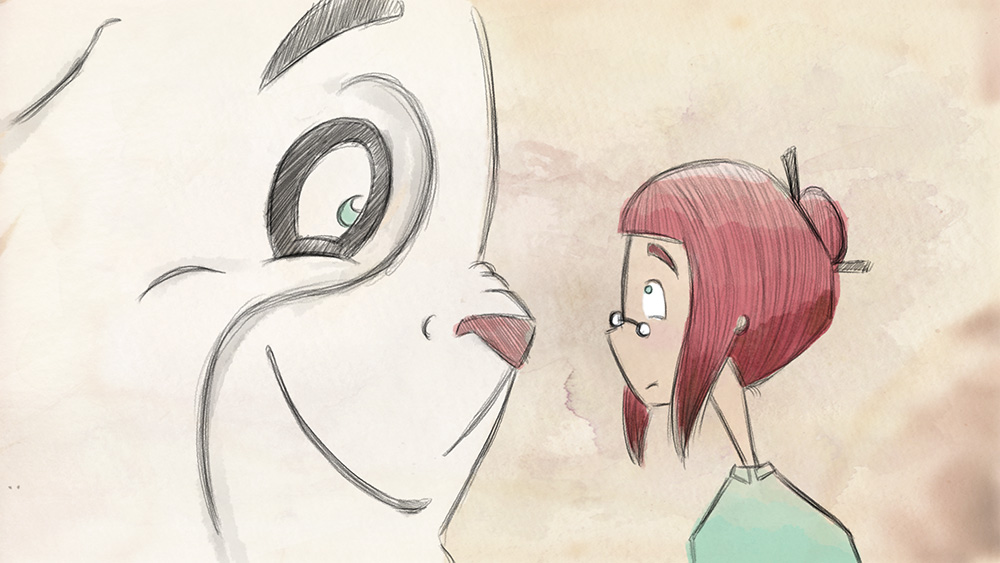 Still from JO AND THE GIANT