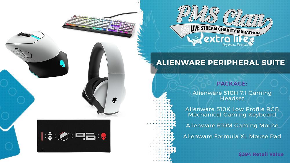 Alienware peripheral suite