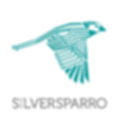 Silversparro Logo Square Color (with bac