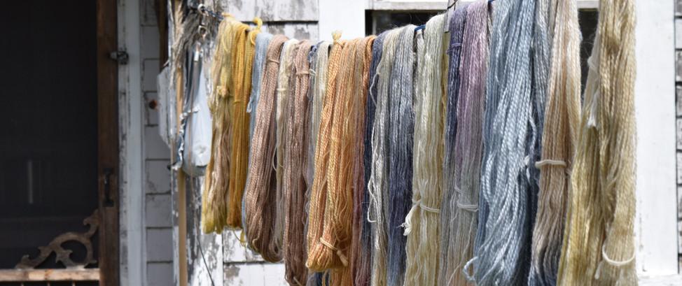 Natural Dyeing Yarn Workshop