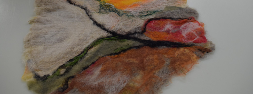 Felted Wallhanging