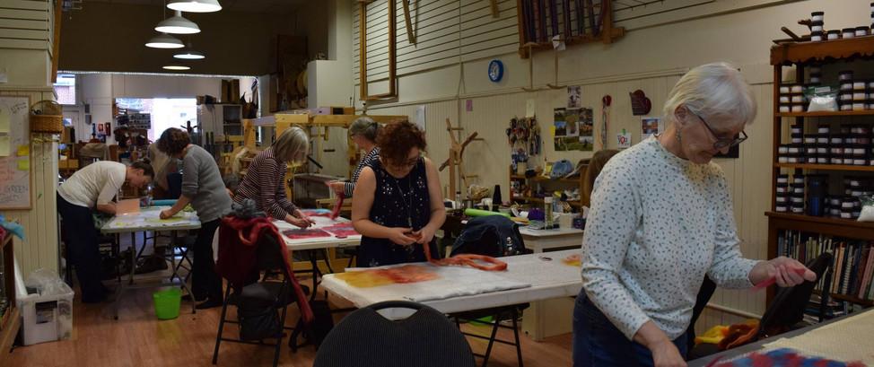 Patchwork Cowl Workshop 2019