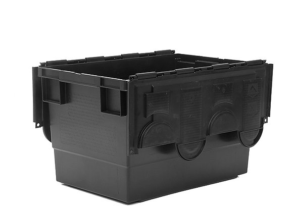 TK719 68 LITRE STACK AND NEST CONTAINER WITH ATTACHED LIDS