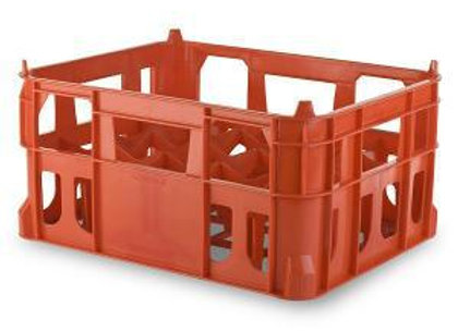 TK009 SMALL 20 BOTTLE DIVIDER STACKING CRATE