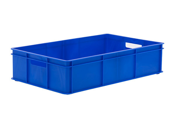 TK311BH STACKING CONTAINER WITH SOLID SIDES, BASE AND HANDLE HOLES