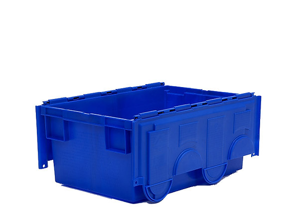 TK718 49.5 LITRE STACK AND NEST CONTAINER WITH ATTACHED LIDS