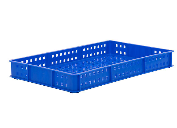 TK111D STACKING CONTAINER WITH MESH SIDES AND BASE