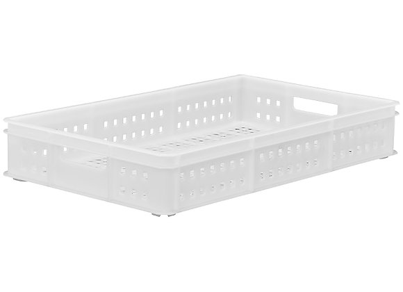 TK211DH STACKING CONTAINER WITH MESH SIDES AND BASE