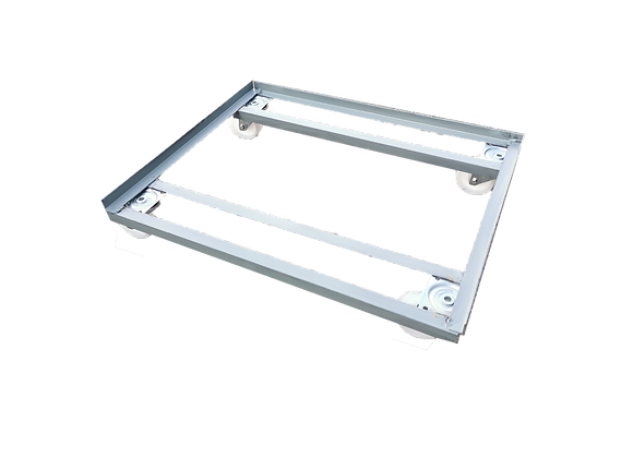 TK04001MD METAL SINGLE DOLLY FOR 2-SIDED STACK AND NEST TRAY LONG SIDE